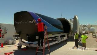 First Public Footage of Hyperloop One