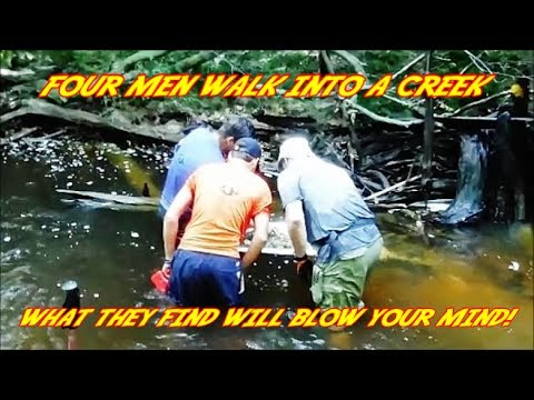 Arrowhead Hunting - Four Men Walk Into a Creek. What They Find Will Blow Your Mind -  Days Like This