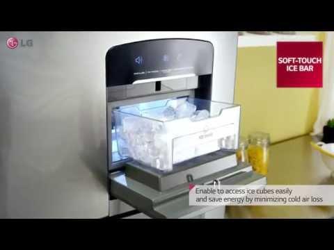 LG 2014 Refrigerator Top Freezer with water dispenser