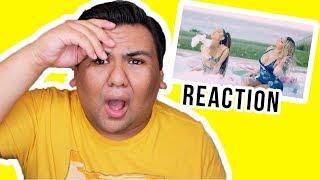 Nicki Minaj - Bed feat.  Ariana Grande [MUSIC VIDEO] (REACTION)