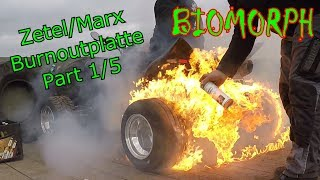 Burnoutplatte Part 1/5 | Zetel 2018 | Quadtreffen Marx