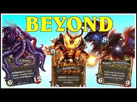 Hearthstone - 3 Beyond Legendaries, 7 Golden