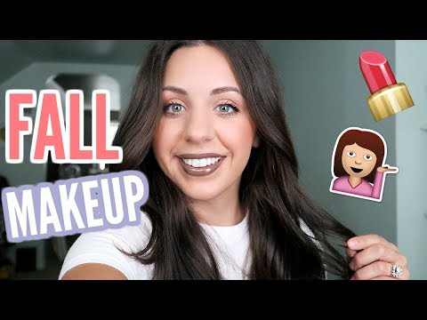 CASUAL GET READY WITH ME! AFFORDABLE FALL MAKEUP! 2017!