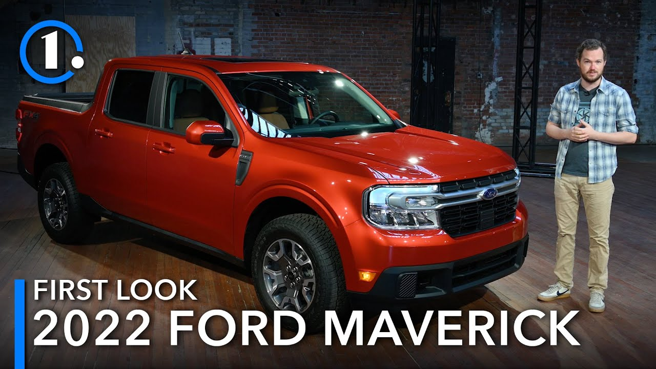 2022 Ford Maverick: First Look (Up-Close Details)