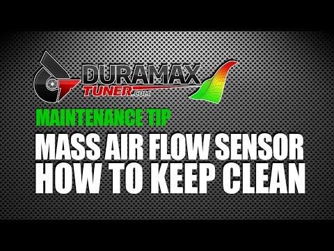 MASS AIR FLOW SENSOR - HOW TO KEEP CLEAN by Duramaxtuner