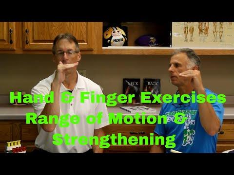Hand & Finger Exercises (Range of Motion & Strengthening) after Cast, Stroke, Injury, etc.