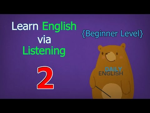 Learn English via Listening Beginner Level | Lesson 2 | Jessica's First Day of School