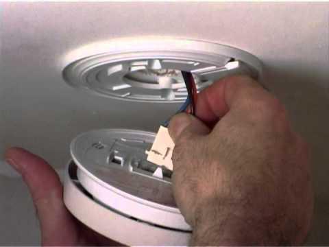 Replace battery in Kidde 4899 heat alarm