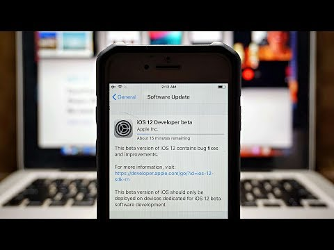 How to install iOS 12 Beta 1 Without PC/Mac or Developer Account!