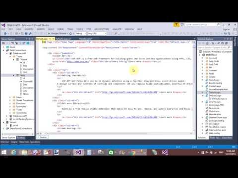 ASP.NET XML FEED Database create part-2
