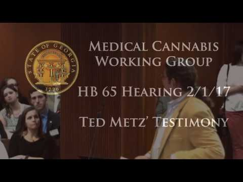 Ted Metz asks that reciprocity be included in HB 65 - February 1, 2017