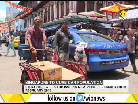 Singapore to curb car pollution