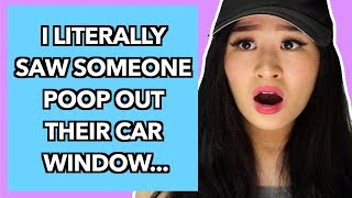 Crazy Things People Witnessed While Driving