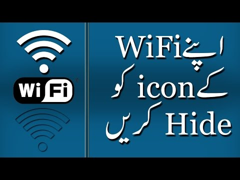 How To Hide WiFi icon on Android Phone | Hide Android Status Bar icons
