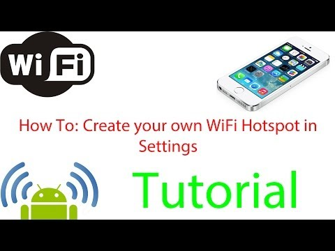How To: Create your own WiFi Hotspot in Settings (Android 2.3.6)