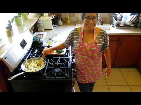 Vegan Tofu Burrito!