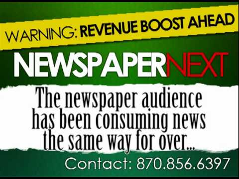 Newspaper Next, LLC. - Audio.Print - Video.Print - Centralized Front Page Design and Consulting
