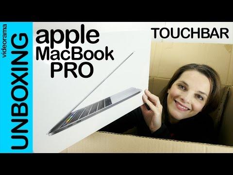 Apple MacBook Pro Touch Bar unboxing | 4K UHD