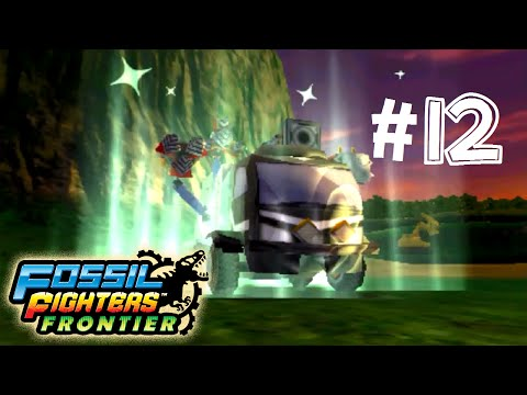 Fossil Fighters: Frontier Nintendo 3DS DINO DISC!  Walkthrough/Gameplay Part 12 English!