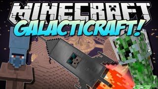 Minecraft | GALACTICRAFT! (The Moon, Space Stations \u0026 More!) | Mod Showcase [1.6.2]