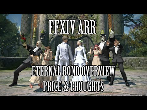FFXIV ARR: Eternal Bond (Marriage) System Overview, Price & Thoughts