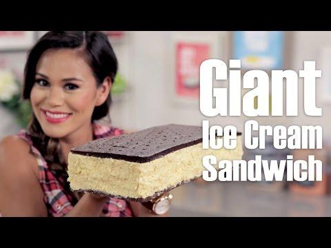 Giant Ice Cream Sandwich | Eat the Trend