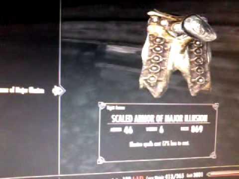 Skyrim daedric armour +  how to get it
