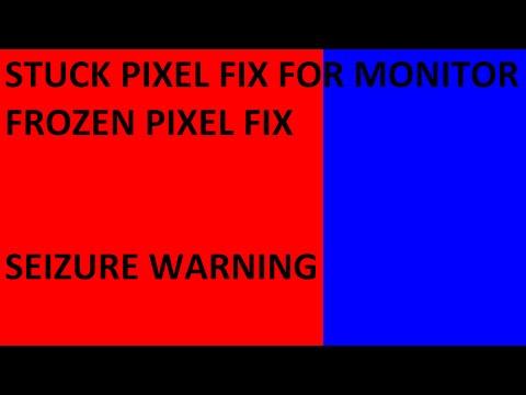 Stuck Pixel Fix for Monitor Fix your Frozen Pixels Seizure Warning 16x9 1080p