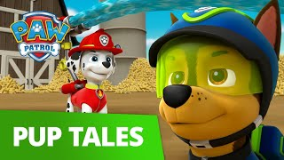 Popcorn Maze! 🍿Can the Pups find Chickaletta?! PAW Patrol Pup Tales Rescue Episode!