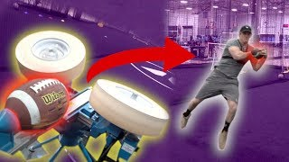 CATCHING A 100+ MPH PROJECTILE! **danger**