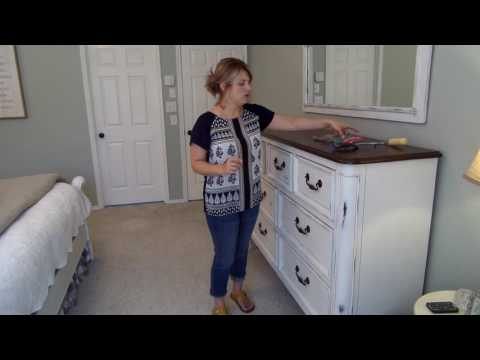 Final Product of Rust-Oleum Spray Chalk Paint Video-Part 7 of 7
