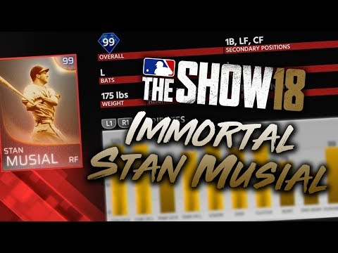 New Immortal STAN MUSIAL! New Programs & New Event! MLB The Show 18 Diamond Dynasty