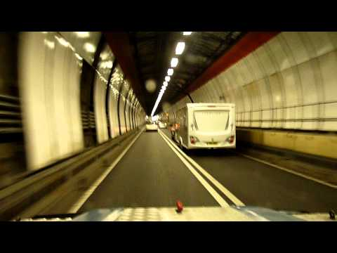 Land rover 300tdi twisted performance exhaust dartford tunnel towing