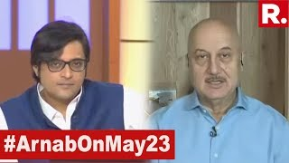 Anupam Kher Speaks Exclusively To Arnab Goswami On 2019 Lok Sabha Election Results   #ModiSweep