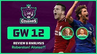 Fpl Gw12 Review: Alonso! Roberton! Salah! Rondon! Aguero! Fraser! Community Questions! | Cougars #16