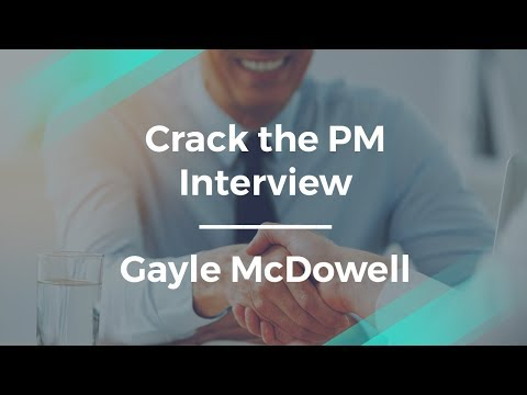How to Crack the Product Manager Interview by Gayle McDowell
