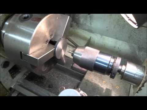 Machining model locomotive wheels Part 1