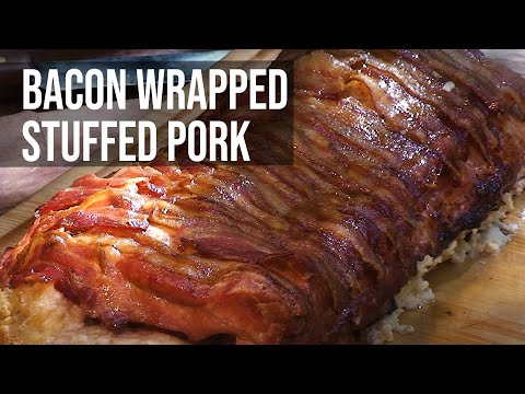 Stuffed Pork Roast recipe by the BBQ Pit Boys