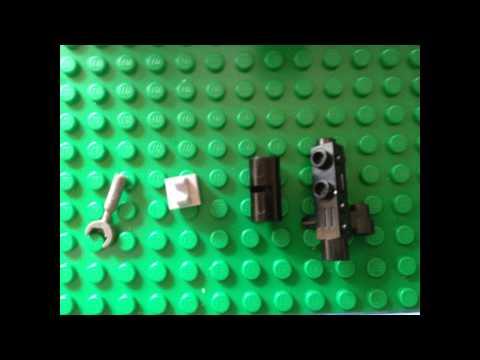 Lego Star Wars: Minigun build