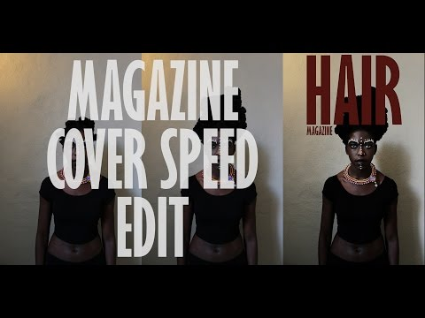 Create amazing magazine covers in photoshop
