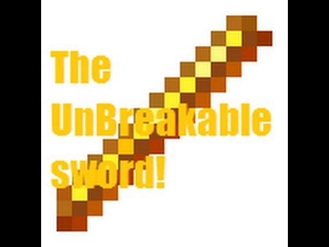 How To Make A Unbreakable Sword In Minecraft!