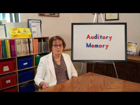 How to Improve Auditory Memory - Auditory Processing Skills