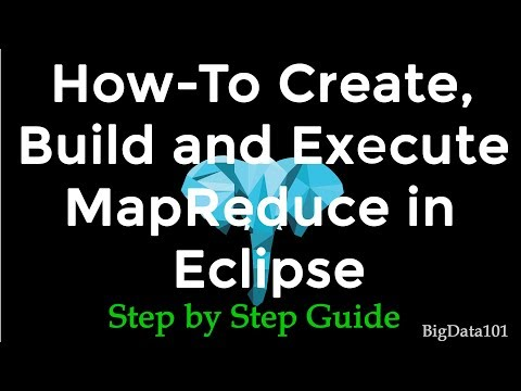 Create and Execute MapReduce in Eclipse