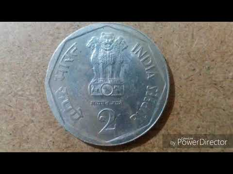 Xxx Mp4 Rare Old Indian Big 2 Rupees Coin 1982 Coin Collection 3gp Sex