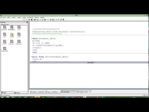 9- Simulating Data from Binomial Distribution