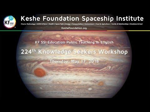 224th Knowledge Seekers Workshop - May 17, 2018