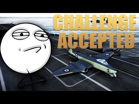 War Thunder Challenge Accepted: Land a Jet on an Aircraft Carrier