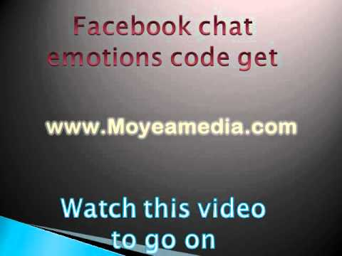 smiley codes for facebook chat