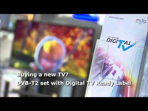 DVB-T2 Roll Out In Singapore