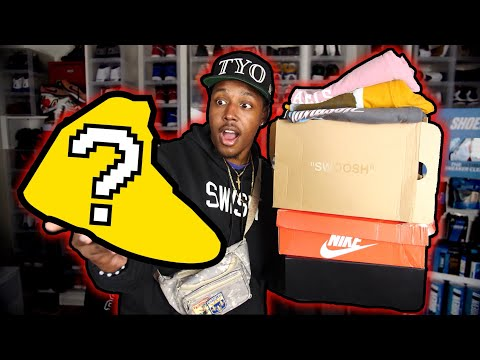 I BOUGHT MY GRAIL SNEAKER! OVER $1500 IN PICKUPS! NEW NIKE X OFF WHITE, YEEZY, SUPREME AND MORE!